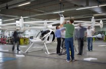 VC220 Volocopter first assembly