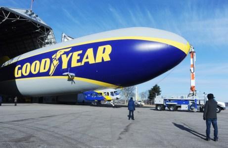 Goodyear airship