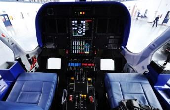 Goodyear airship cockpit