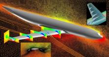 image: © NASA Elizabeth Lee-Rausch, Michael Park | Lift mesh transport simulation