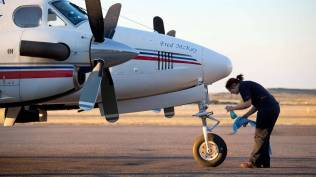 The Fred Mckay getting ready | RFDS