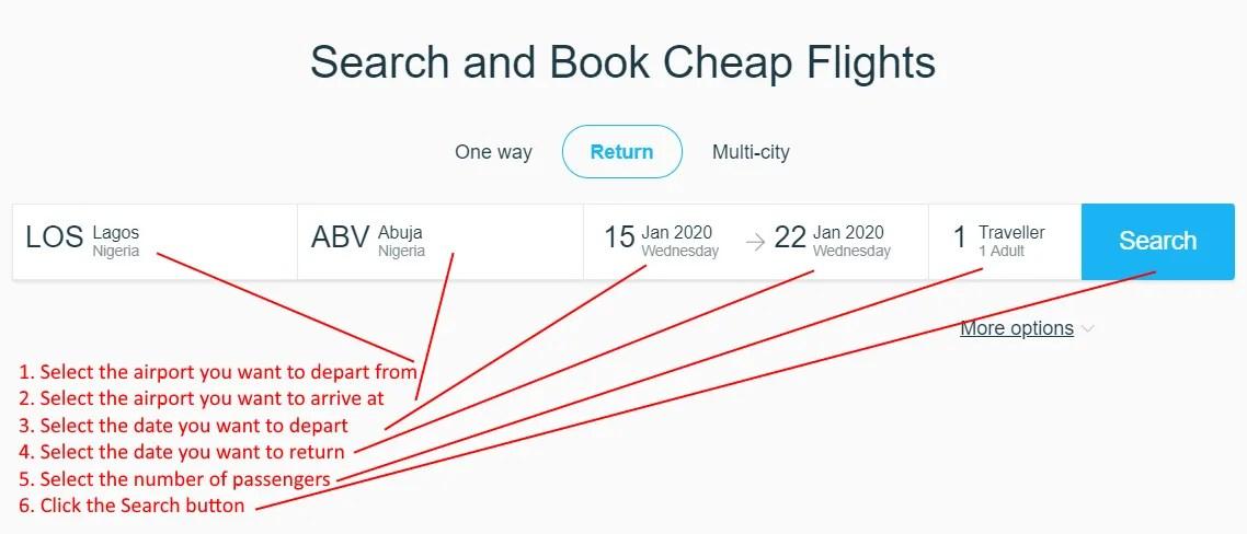 How do I book a flight on Air Peace.