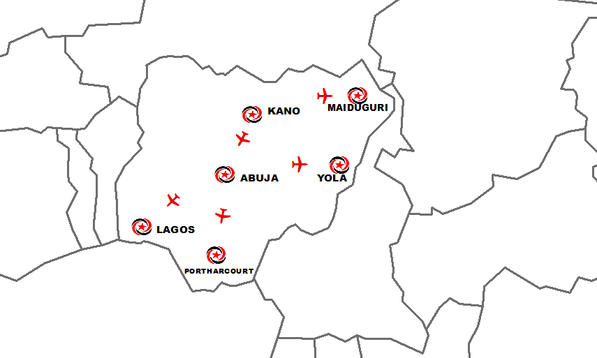 Max Air Booking Nigeria Flight Network