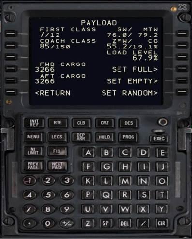Payload B738