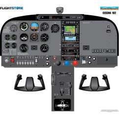 Cessna 172 Dashboard Diagram 2003 Dodge Neon Stereo Wiring Instrument Panel Poster - Bing Images