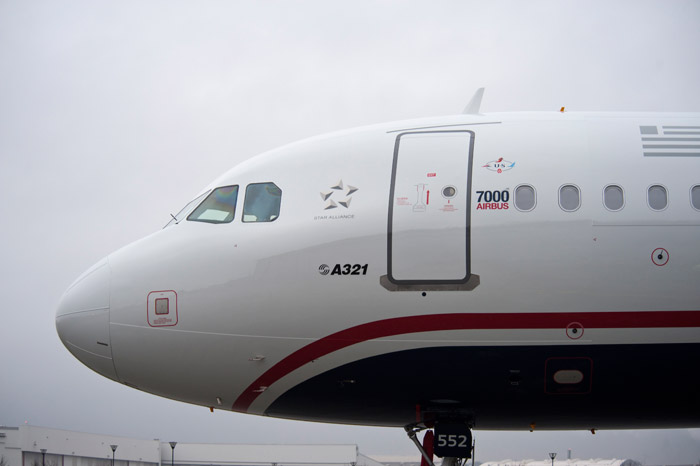 7000th Airbus Aircraft an Airbus A321 for US Airways