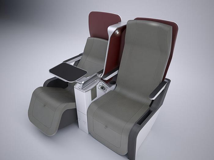 Airbus A350 XWB Celeste Premium Seat