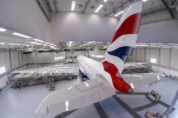 British Airways Airbus A380 Rollout