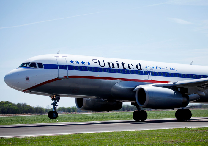 United Airlines 85th Anniversary Special Livery