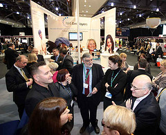 Using Text Message Campaigns at a Busy Exhibition