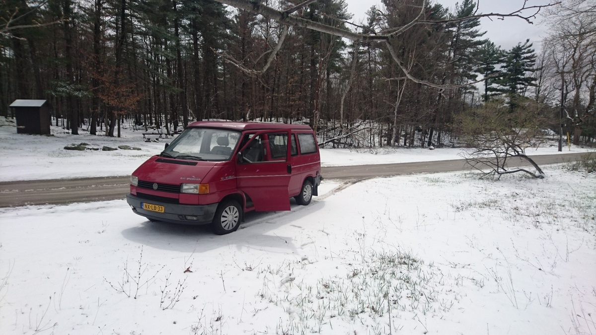 April 2016: First Month In The Van