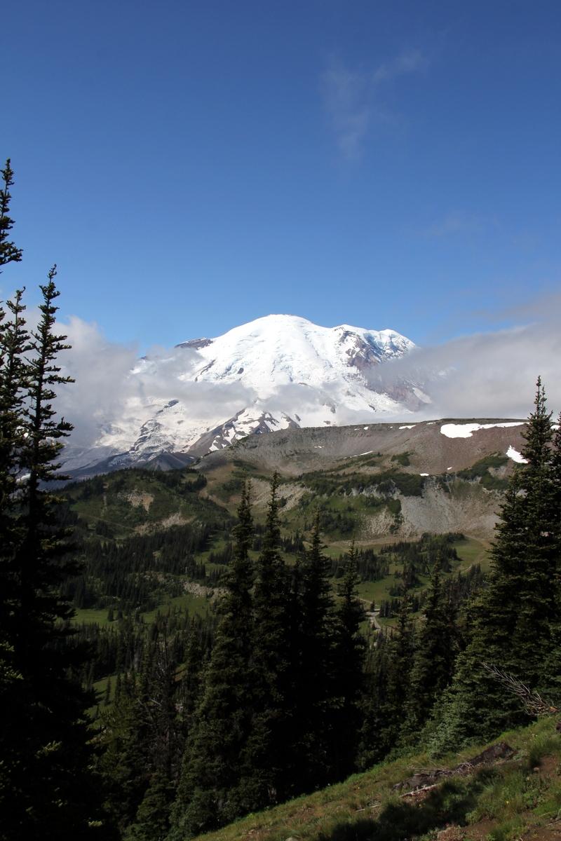 Mount Rainier hike
