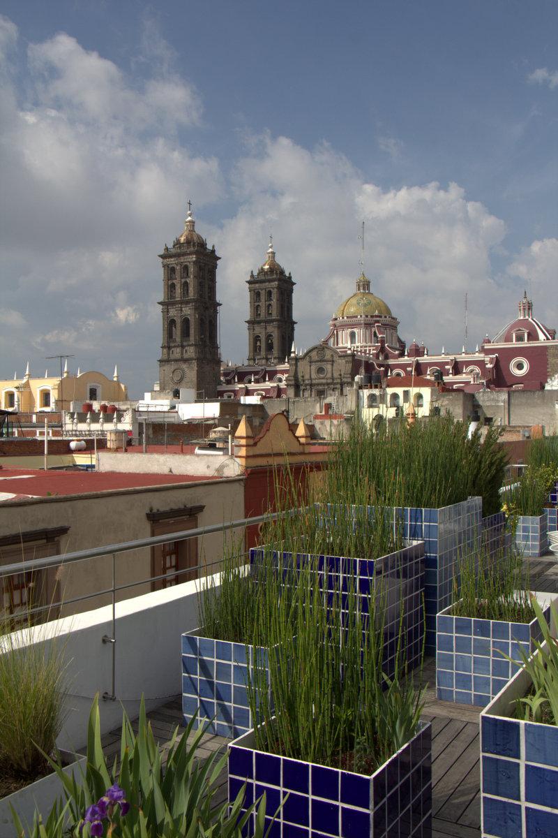 Puebla museum rooftop