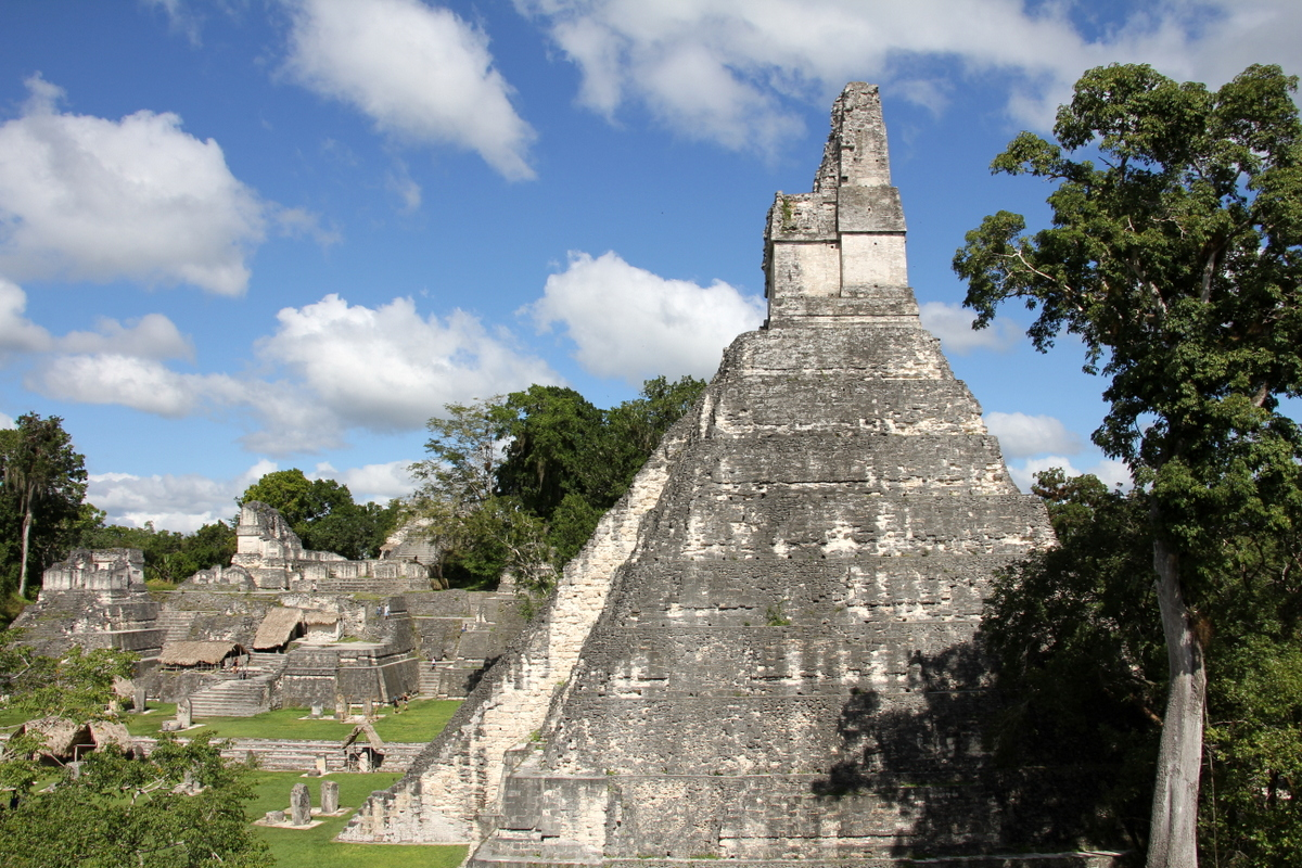 Who Needs Brakes When There Are Maya Ruins?
