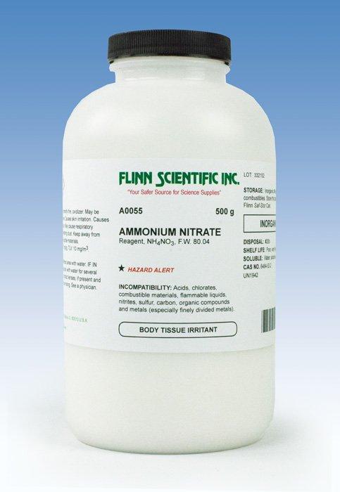 Flinn Chemicals. Ammonium Nitrate
