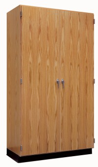 """Full Height Storage Cabinet, 48"""" Wide"""