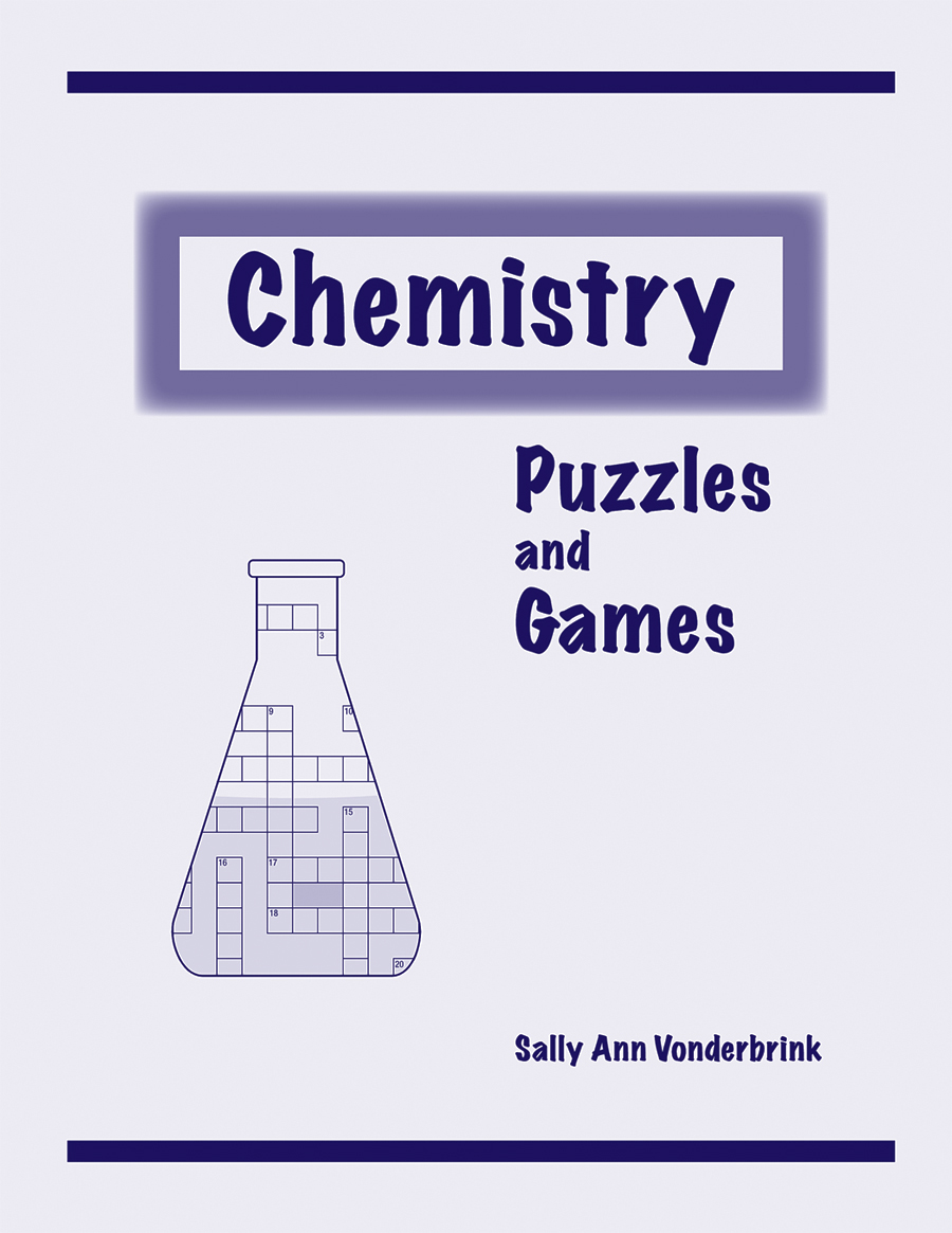 hight resolution of chemistry puzzles and games activity book