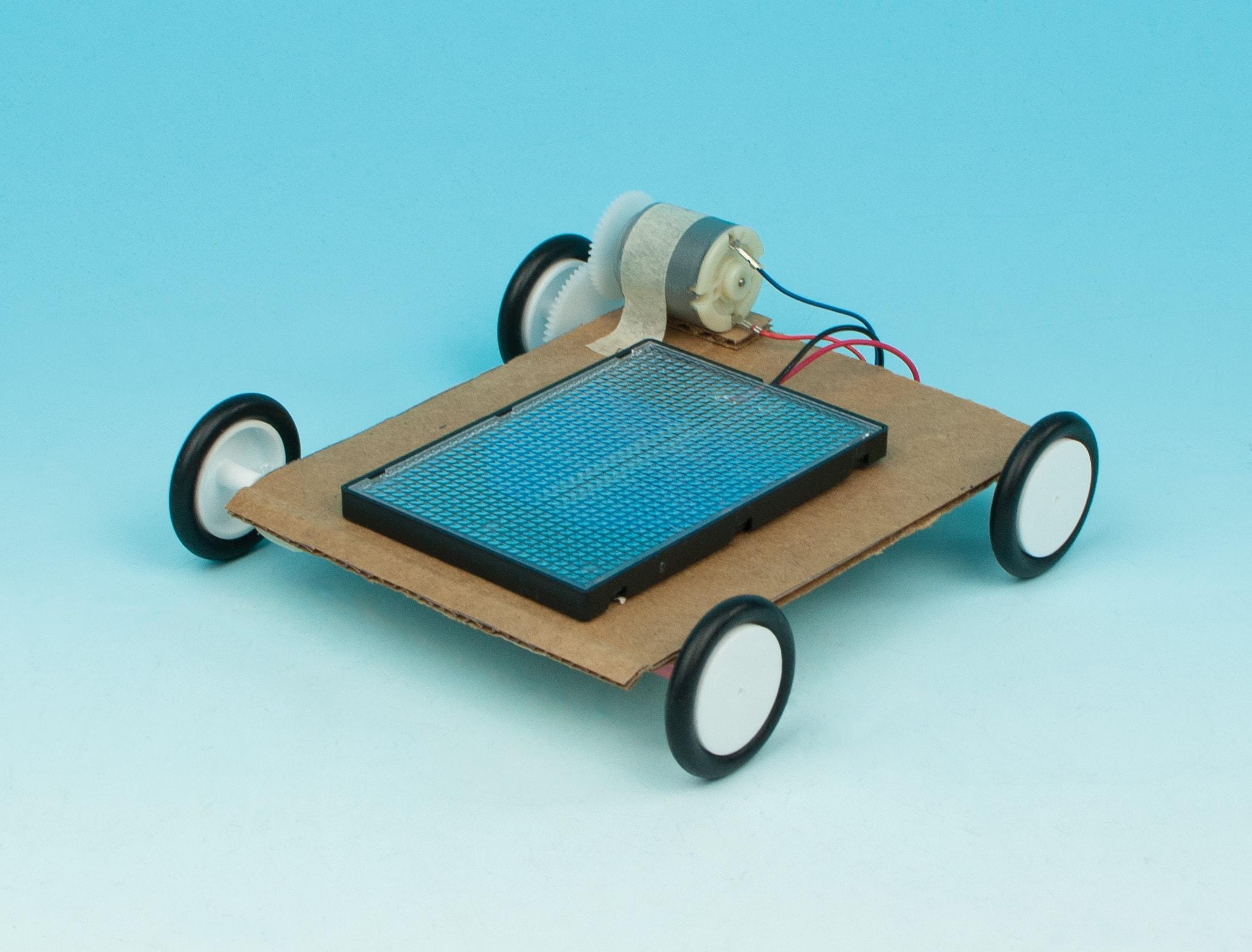 Solar Powered Car Stem