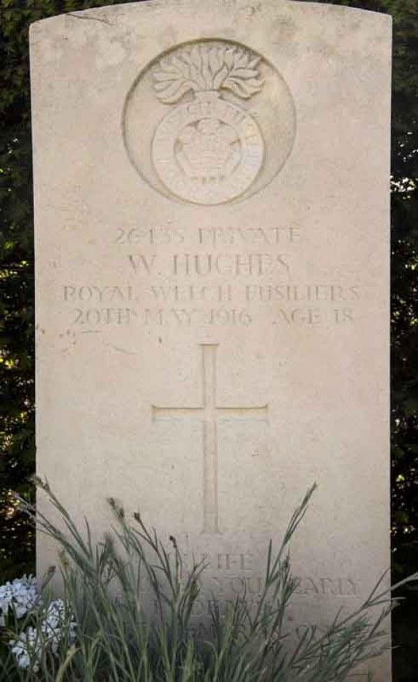 Holywell Merville William Hughes 001