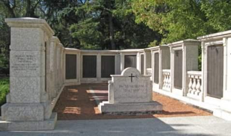 war memorial at Legislative grounds