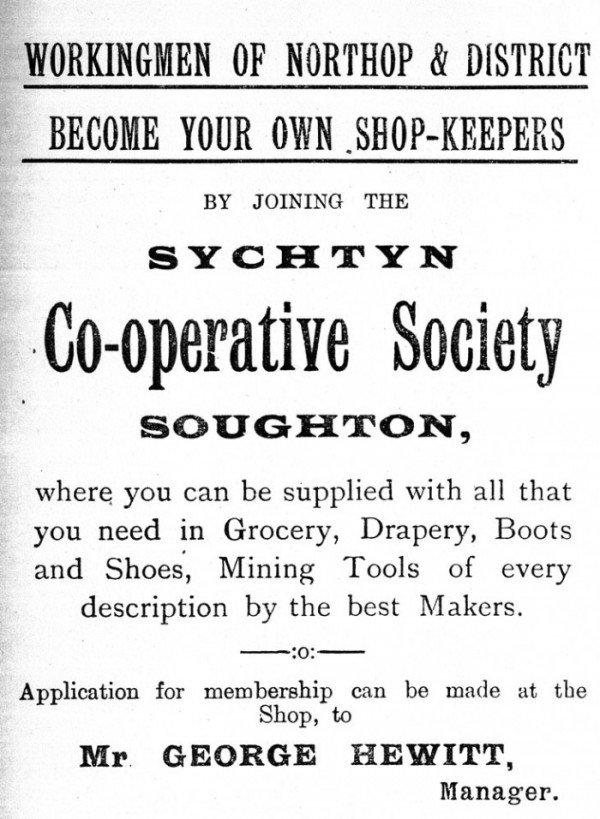 Advertisement from a Parish Magazine of 1914