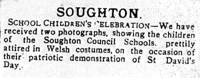 County Herald 31 March 1916. (They didn't print the photograph in the newspaper- just this description of it)