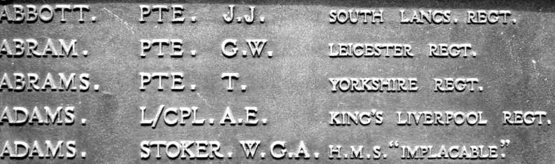 Widnes Memorial (b)
