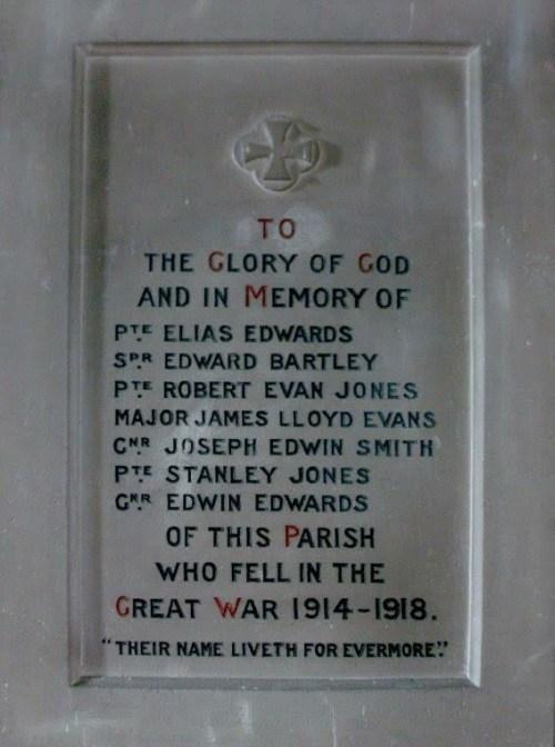 Gwernaffield Memorial 001