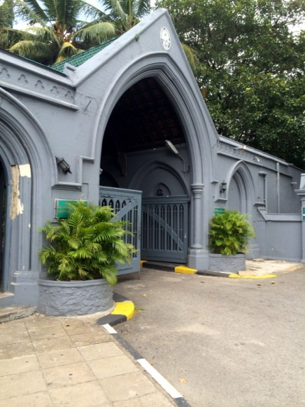Entrance to Colombo (Kanatte) General Cemetery