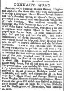 Heroism Flintshire Observer 11th Feb. 1897 3