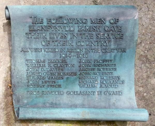 Llanfynydd Memorial 001