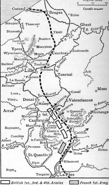 Allied Line 18th October 1918