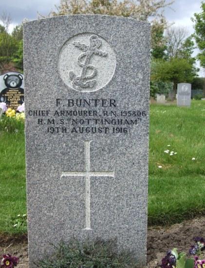 Bunter, F (grave) a