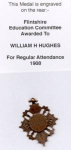 WW1-17-1 Lady Augusta School Mostyn, medal