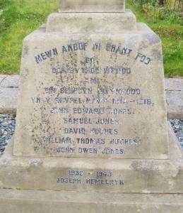 Trelawnyd Memorial 2