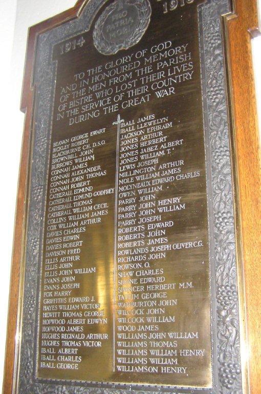 Bistre Memorial