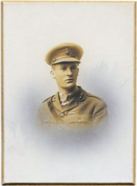 Captain Roy Bowes 1893-1917