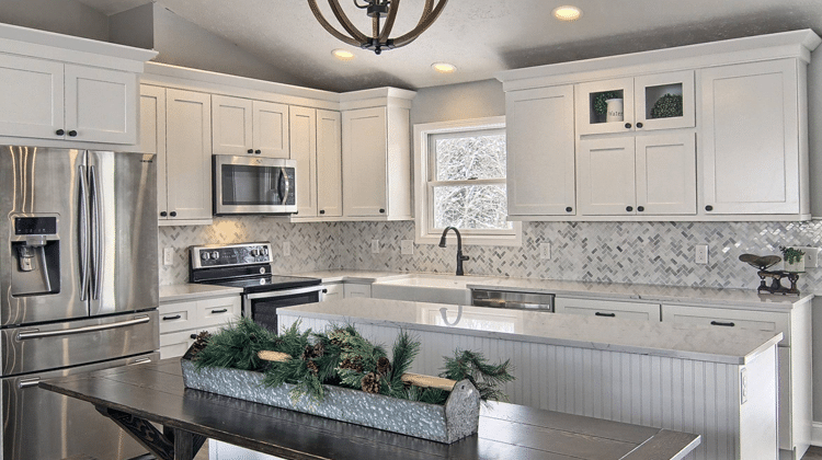RiverRun Cabinetry  Flintstone Marble and Granite