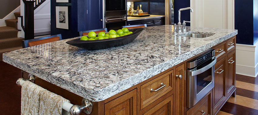 most stylish kitchen counter top edges