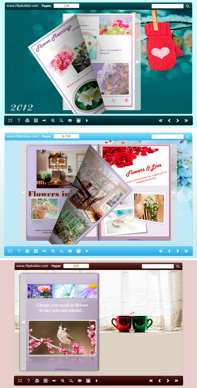Use The Templates In Float New Year Theme Package To Build