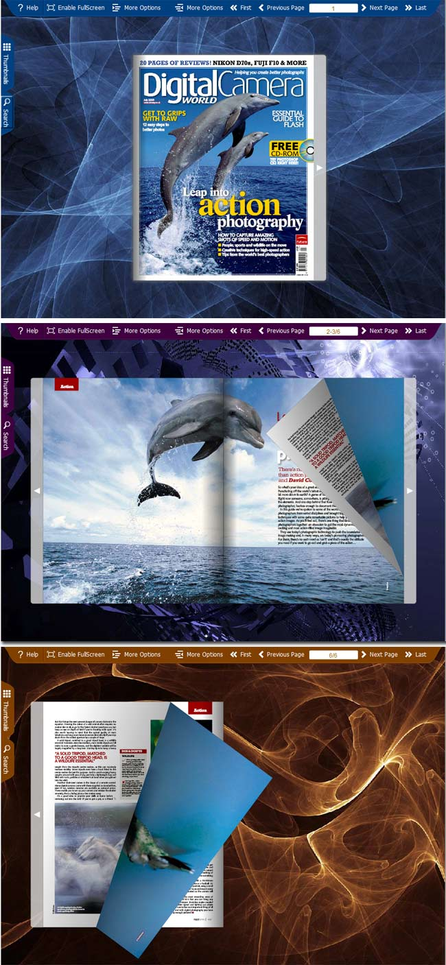 Spread 3D Design Theme Contain 6 Amazing 3D Graphic Design