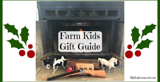 Farm Kids Gift Guide