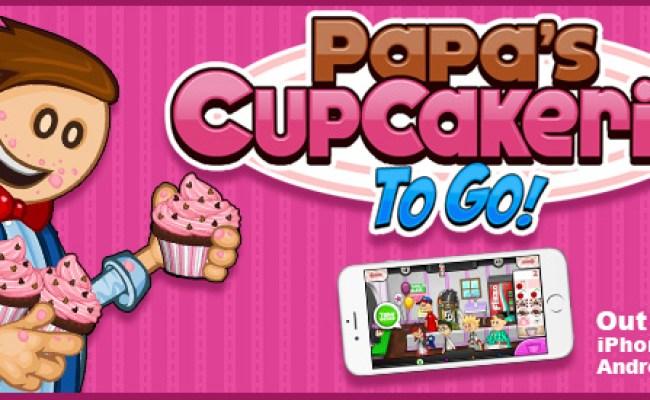 Play Papa S Cupcakeria To Go Games Flipline Studios