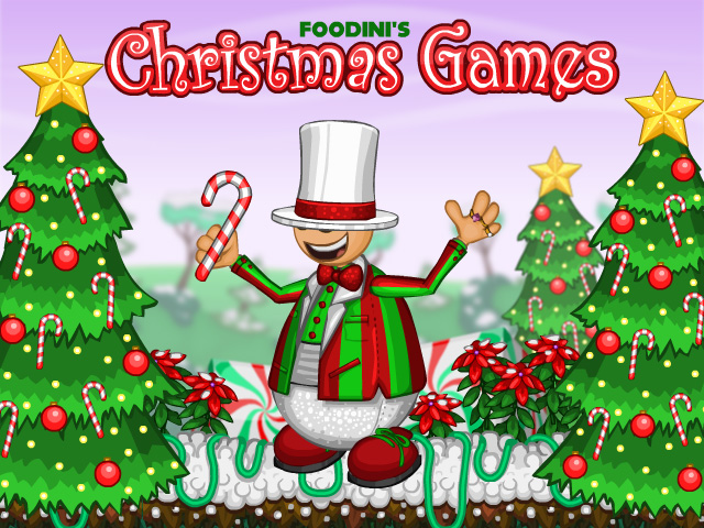 foodini s christmas games