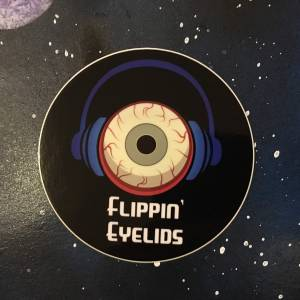 Flippin' Eyelids Sticker