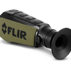 4 Prong Night Vision Dual Battery Mobile Scout Ii Thermal Monocular Flir Systems Offering Clear Imaging In A Compact Quickly Detects Humans Animals And Objects Low Visibility Environments Day Or