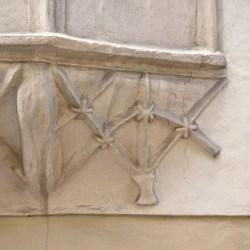 Gotisches Erkerelement