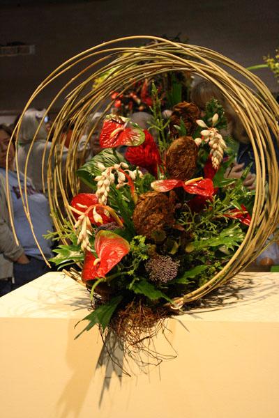 Individual flower arrangements at Philadelphia Flower Show  Flirty Fleurs The Florist Blog