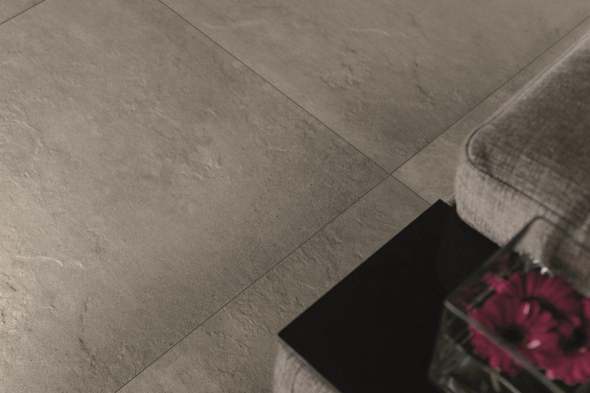 Fliser Med Cement Look Og Trendsaettende Design
