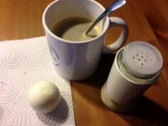 Ei + Kaffee